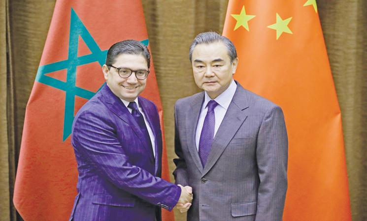 المغرب والصين يوقعان مذكرة تفاهم حول مبادرة الحزام والطريق تنص على انضمام المغرب للمبادرة الصينية بشكل يمكنه من إقامة شراكات متعددة الأطراف